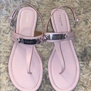 Women's coach sandals size 8